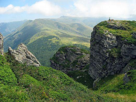 """Балканские горы или """"Стара-Планина"""" (турецкий вариант) раскинулись в Болгарии на 600 км"""