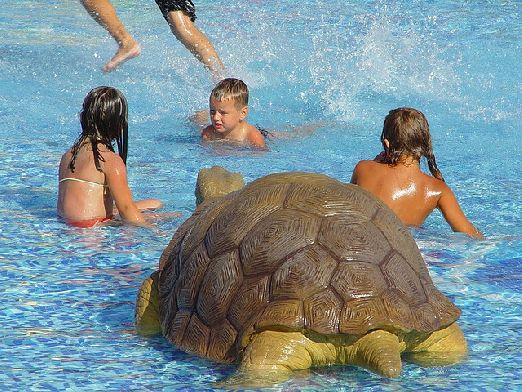 Многие туристы считают, что в аквапарк Экшен можно отправляться и с самыми маленькими детьми, но все, конечно, индивидуально