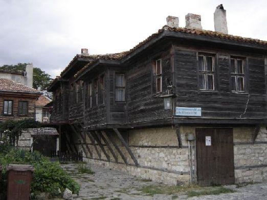 Характерные домики в Старом городе