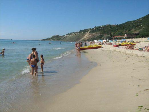 Небольшой курорт Кранево в Болгарии