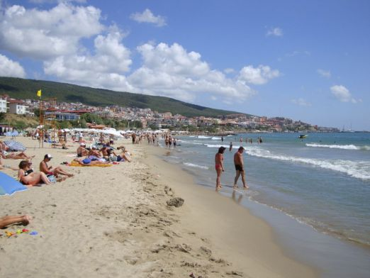 Песчаные пляжи курорта Святой Влас